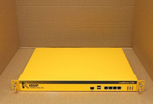 Kemp LoadMaster 2200 Load Balancer NSA1042N8-LM2200